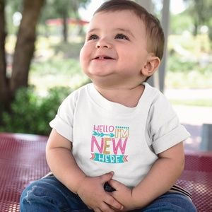 New baby announcement t-shirts